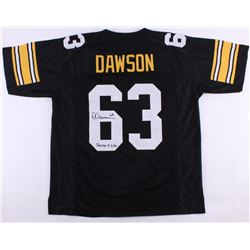 "Dermontii Dawson Signed Steelers Jersey Inscribed ""Steeler 4 Life"" (JSA COA)"