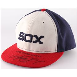 "Avisail Garcia Game-Used Signed White Sox New Era Fitted Hat Inscribed ""2013 Game Used"" (JSA COA)"