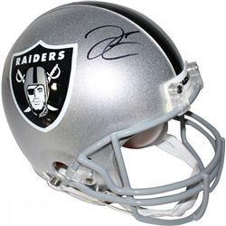 Derek Carr Signed Raiders Full-Size Authentic On-Field Helmet (Steiner Hologram)