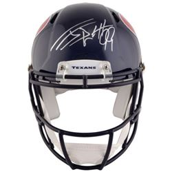 J.J. Watt Signed Texans Full-Size Authentic On-Field Speed Helmet (Steiner)
