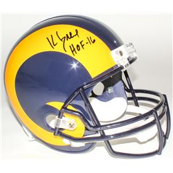 "Kevin Greene Signed Rams Full-Size Helmet Inscribed ""HOF-16"" (Radtke COA)"