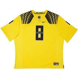 Marcus Mariota Signed Oregon Ducks LE Nike Jersey (UDA COA)