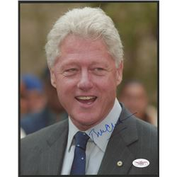 Bill Clinton Signed 8x10 Photo (JSA COA)