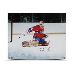"Patrick Roy Signed Canadiens ""The Save"" 16x20 Photo (UDA COA)"