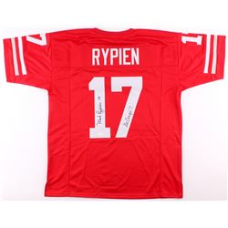 "Mark Rypien Signed Washington State Cougars Jersey Inscribed ""Go Cougs!!"" (JSA COA)"