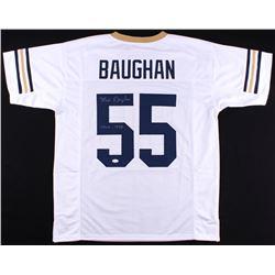 "Maxie Braughan Signed Georgia Tech Yellow Jackets Jersey Inscribed ""CHOF 1999"" (JSA COA)"