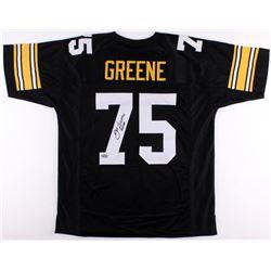 "Joe Greene Signed Steelers Jersey Inscribed ""HOF 87"" (Radtke COA)"