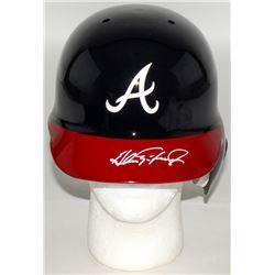 Andres Galarraga Signed Braves Full-Size Batting Helmet (Radtke COA)