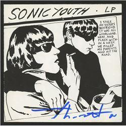 """Thurston Moore Signed Sonic Youth """"Goo"""" CD Insert (JSA COA)"""