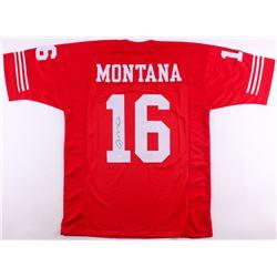 Joe Montana Signed 49ers Jersey (JSA COA)