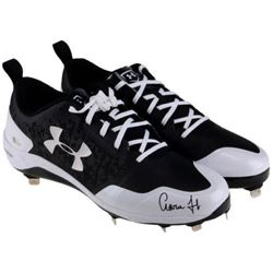 Aaron Judge Signed Under Armour Pair of Baseball Cleats (Fanatics Hologram  MLB Hologram)