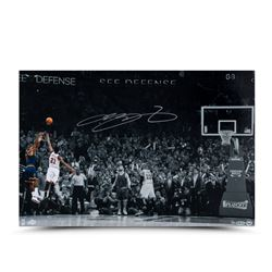 "LeBron James Signed ""Ball Game"" 16x24 Limited Edition Photo (UDA COA)"