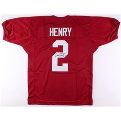 Derrick Henry Signed Alabama Crimson Tide Jersey (JSA COA)