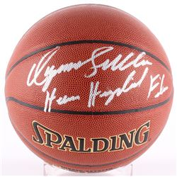 """Dominique Wilkins Signed Basketball Inscribed """"Human Highlight Film"""" (TriStar COA)"""