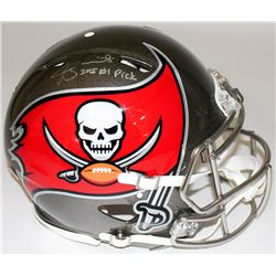 """Jameis Winston Signed LE Buccaneers Full-Size Authentic On-Field Speed Helmet Inscribed """"2015 #1 Pic"""