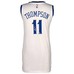 Klay Thompson Signed Warriors Jersey (Fanatics Hologram)