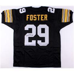 Barry Foster Signed Steelers Jersey (JSA COA)