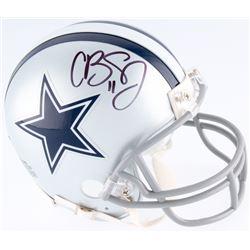 Cole Beasley Signed Cowboys Mini-Helmet (Fanatics Hologram)