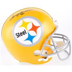 Terry Bradshaw Signed Steelers Throwback Full-Size Helmet (Bradshaw Hologram)