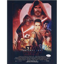 Star Wars The Last Jedi 11x14 Photo Signed By Rian Johnson  Andy Serkis (JSA COA)