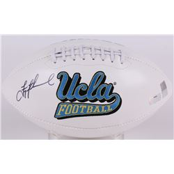 Troy Aikman Signed UCLA Bruins Logo Football (Radtke COA  Aikman Hologram)