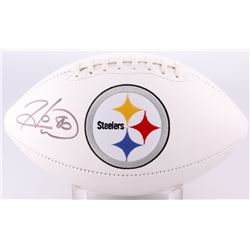 Hines Ward Signed Steelers Logo Football (JSA COA)