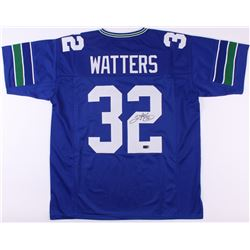 Ricky Watters Signed Seahawks Jersey (Radtke COA)