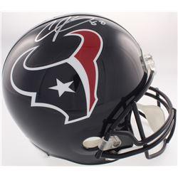 Andre Johnson Signed Texans Full-Size Helmet (JSA COA)