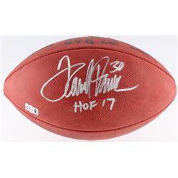 "Terrell Davis Signed NFL Football Inscribed ""HOF 17"" (Radtke COA  Davis Hologram)"