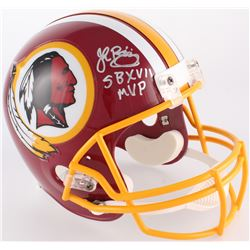 "John Riggins Signed Redskins Full-Size Helmet Inscribed ""SB XVII MVP"" (JSA COA)"