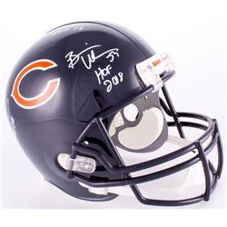 Brian Urlacher, Dick Butkus  Mike Singletary Signed  Inscribed Bears Full-Size Helmet (JSA COA)