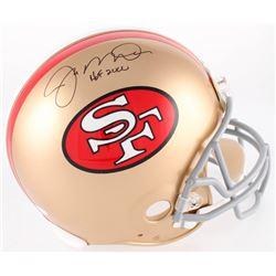 Joe Montana Signed 49ers Authentic On-Field Full-Size Helmet Inscribed  HOF 2000  (JSA Hologram)