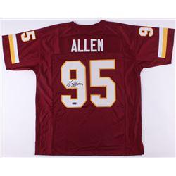 Jonathan Allen Signed Redskins Jersey (Radtke COA)