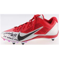 Jalin Marshall Signed Ohio State Buckeyes Nike Football Cleat Inscribed  2014 National Champs  (JSA