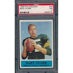 1964 Philadelphia #79 Bart Starr (PSA 7)