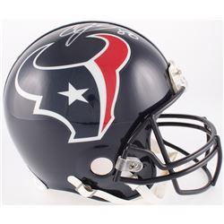 Andre Johnson Signed Texans Full-Size Authentic On-Field Helmet (JSA COA)