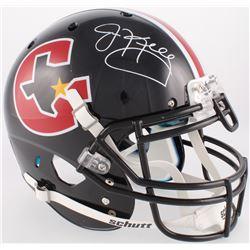 Jim Kelly Signed Gamblers Full-Size Authentic On-Field Helmet (JSA COA)