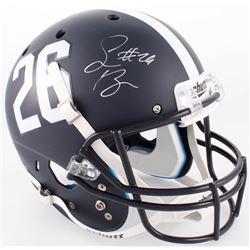 Saquon Barkley Signed Penn State Nittany Lions Matte Blue Full-Size Helmet (JSA COA)