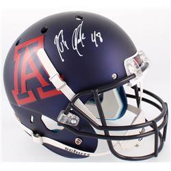 Rob Gronkowski Signed Arizona Wildcats Full-Size Custom Matte Blue Helmet (Radtke COA)