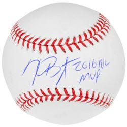 "Kris Bryant Signed Baseball Inscribed ""2016 NL MVP"" (Fanatics Hologram  MLB Hologram)"