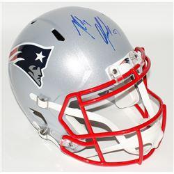 Rob Gronkowski Signed Patriots Full Size Speed Helmet (Radtke COA)