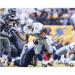 Emmitt Smith Signed Cowboys 16x20 Photo (JSA COA  Prova Hologram)