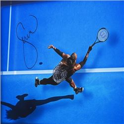 """Serena Williams Signed LE """"Great From Above"""" Framed Acrylic Display (UDA Hologram)"""
