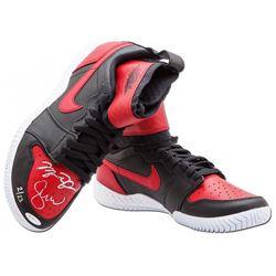 Serena Williams  Michael Jordan Signed LE  Jordan 1 Shoes (UpperDeck)