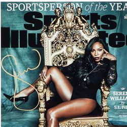 """Serena Williams Signed Framed LE """"Sportsperson Of The Year"""" 16x20 Photo Display (UDA COA)"""