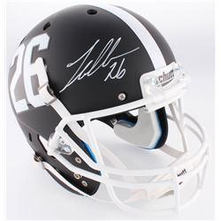 Landon Collins Signed Alabama Crimson Tide Full-Size Custom Matte Black Helmet (Radtke COA  Collins
