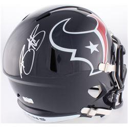 Braxton Miller Signed Texans Full-Size Speed Helmet (Radtke COA)