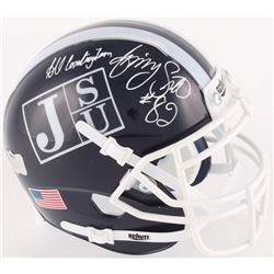 "Jimmy Smith Signed Jackson State Tigers Mini Helmet Inscribed ""All Century Team"" (Radtke COA)"