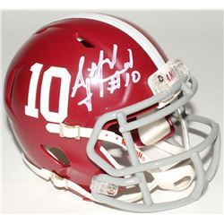 A.J. McCarron Signed Alabama Crimson Tide Mini Speed Helmet (Radtke Hologram)