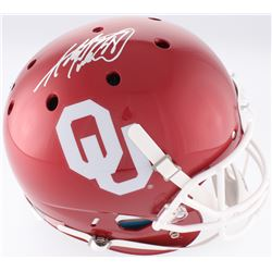 Adrian Peterson Signed Oklahoma Sooners Full-Size Helmet (Fanatics Hologram)